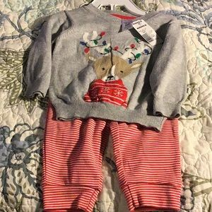 BRAND NEW 6m boy/girl outfit